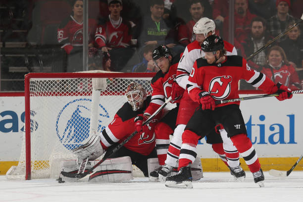 442f25225 Hischier Nets 3 Points as Devils Down Canes in Crucial Game